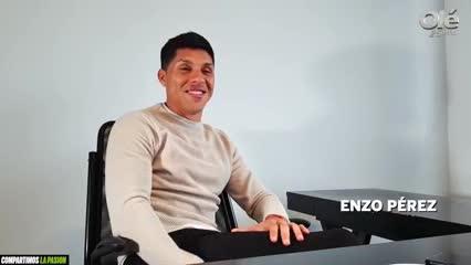 Enzo y sus ganas de ser representante