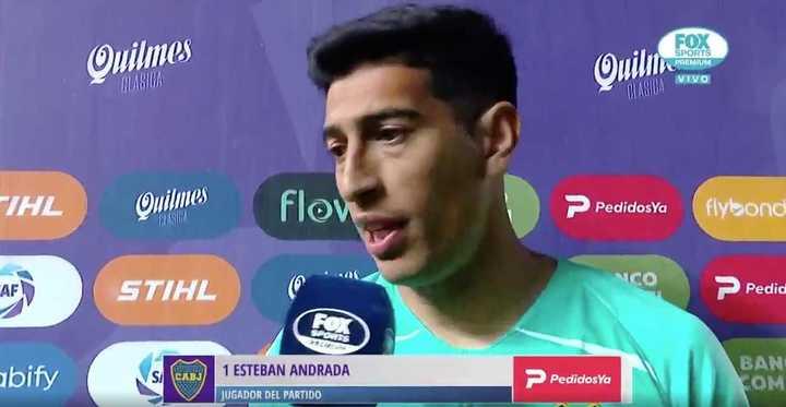 La palabra de Esteban Andrada