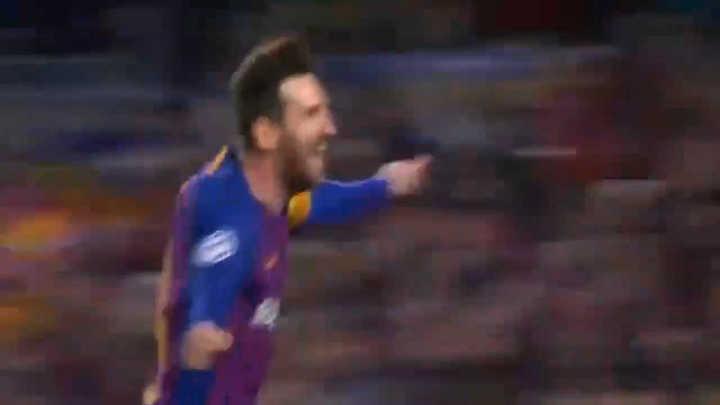 Messi marcó el segundo y sueña con las semis
