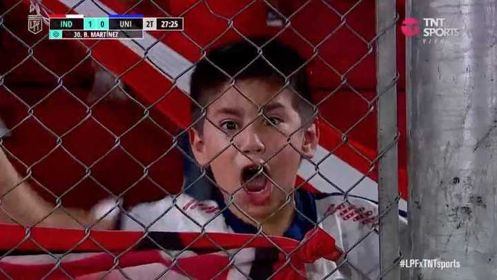 Independiente se puso arriba