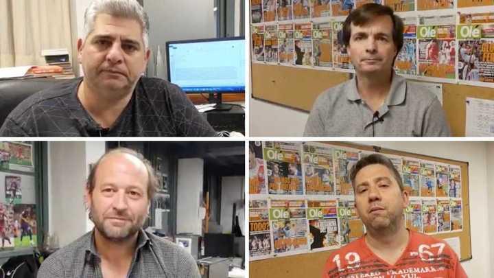La opinión de los periodistas de Olé