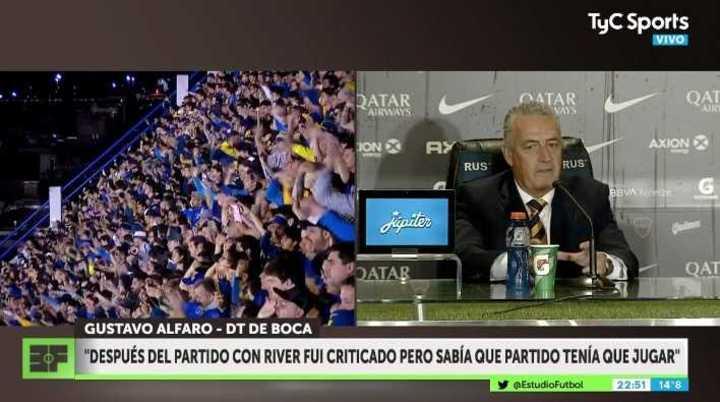 """Alfaro: """"Con River supe qué partido tenía que jugar"""""""