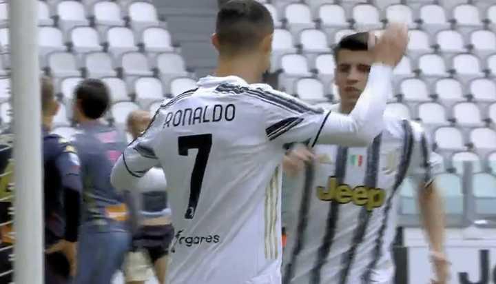 Los goles del triunfo de Juventus 3 Genoa 1