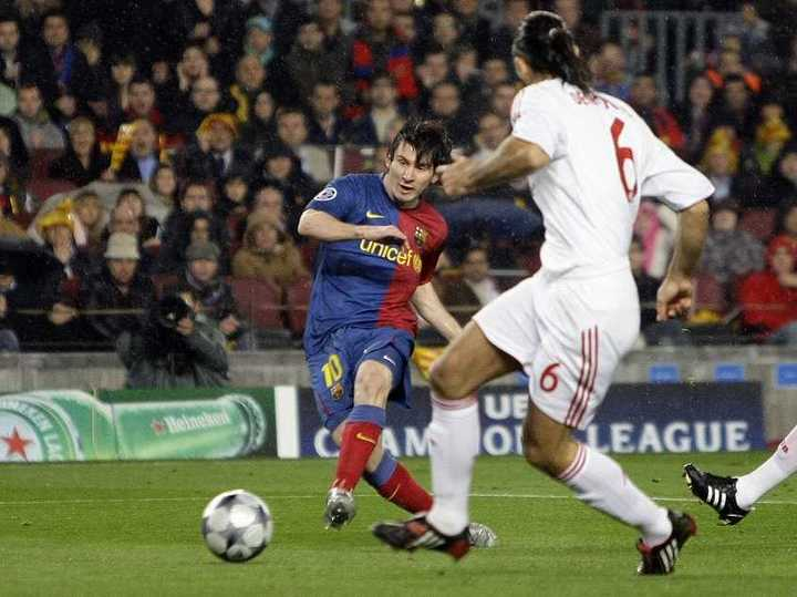 El show de Messi vs. Bayern Munich en 2009