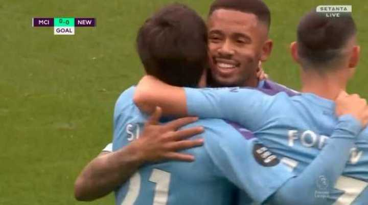 El City le ganó 5 a 0 al Newcastle