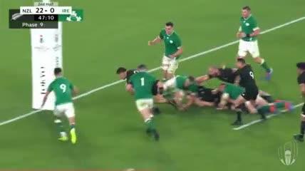Lo mejor de los All Blacks vs Irlanda