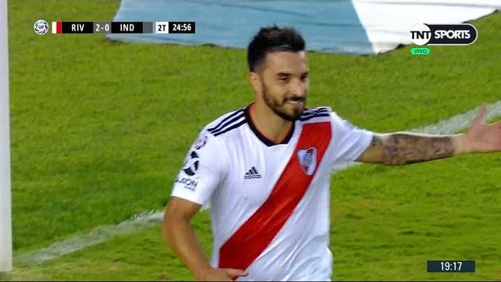 Nacho cambió el penal por gol