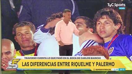 Traverso, sobre la interna Riquelme vs. Palermo