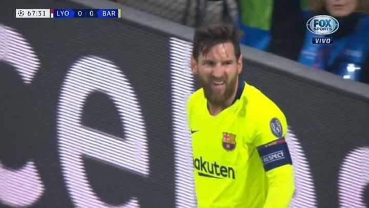 Messi llegó con lo justo
