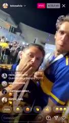 El divertido vivo de Instagram de Salvio y Mas