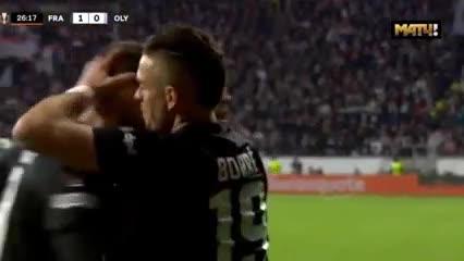 Gol de Borré en la Europa League