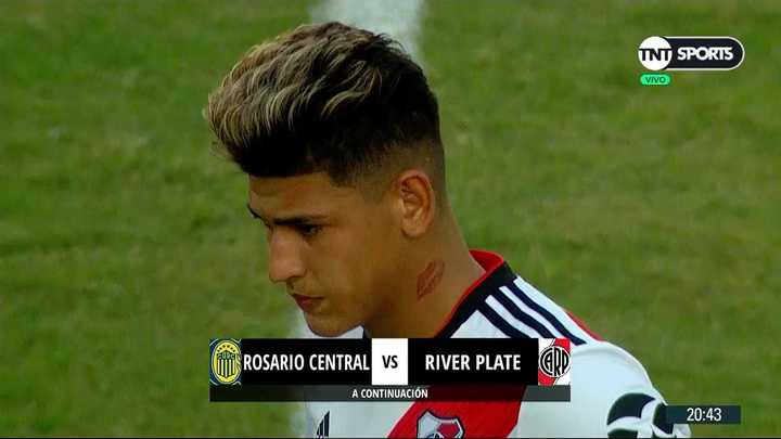 El debut de Carrascal en River
