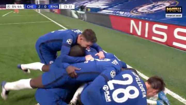 Mount marcó el 2 a 0 de Chelsea