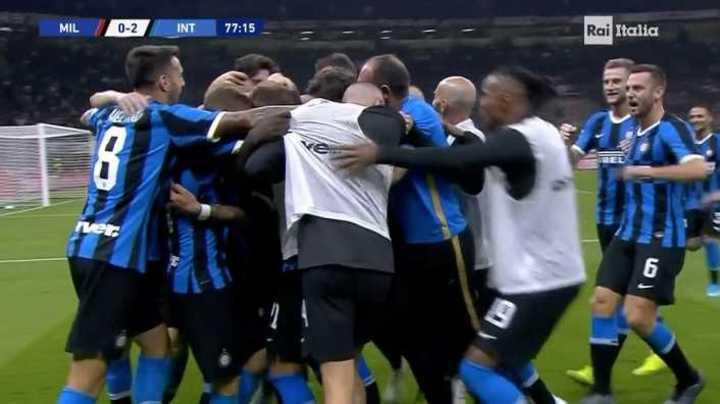 Lukaku marcó el segundo de Inter