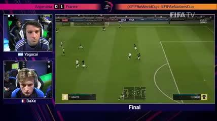Los goles de la final del Mundial de FIFA