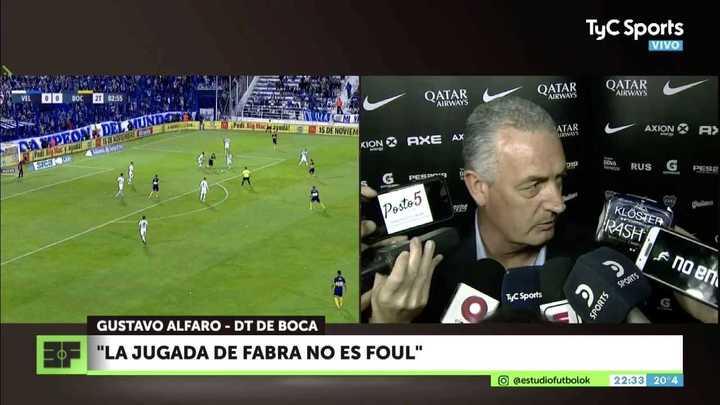 Gustavo Alfaro se comparó con Pep Guardiola