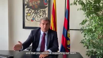 El mensaje de Laporta tras la derrota frente al Bayern
