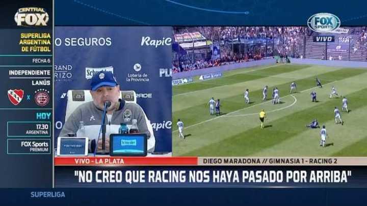 """Diego Maradona: """"Chacho estuvo en un teatro de revistas"""""""