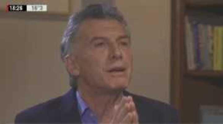 """Macri dijo que """"la B es la B"""" y que """"la final de Madrid es un hito"""""""