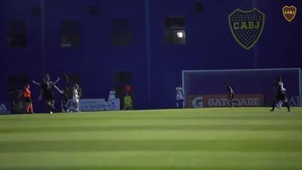 El femenino de Boca empató con San Lorenzo