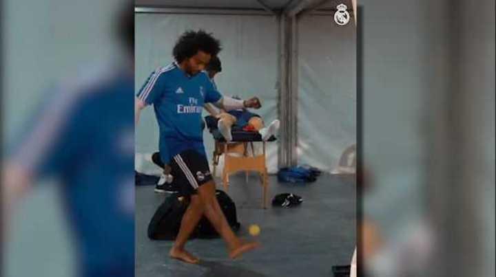El Madrid se divierte en Abu Dabi