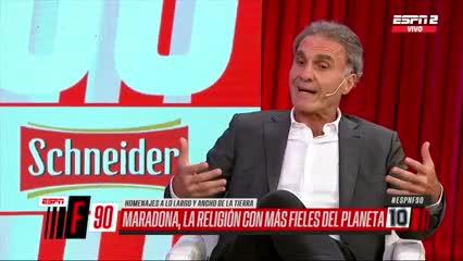 """""""Me enojaba con Diego por la droga"""""""