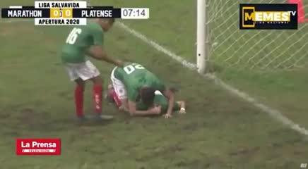 El primer gol de Ryduan Palermo en Honduras