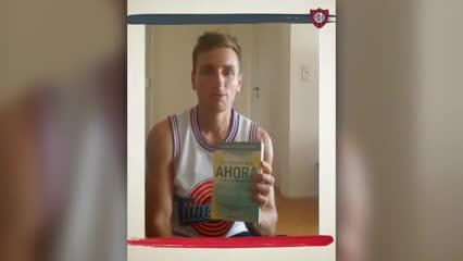 El mensaje de Bruno Pittón en cuarentena