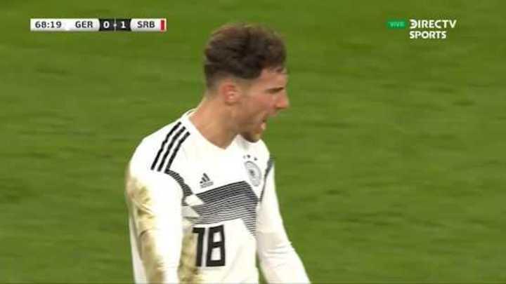 Goretzka lo empató para Alemania