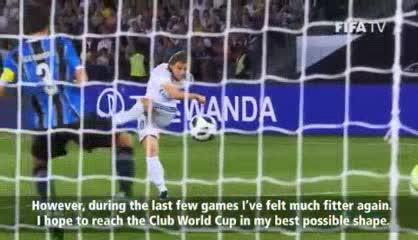Modric enfocado en el Mundial de Clubes