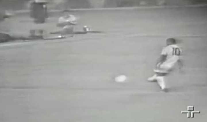 El gol 1000 de Pelé