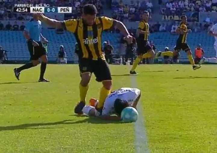 La increíble lesión de Gargano