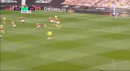 El gol de Cavani para el United