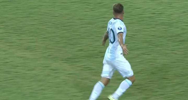 Mac Allister puso el empate frente a Colombia