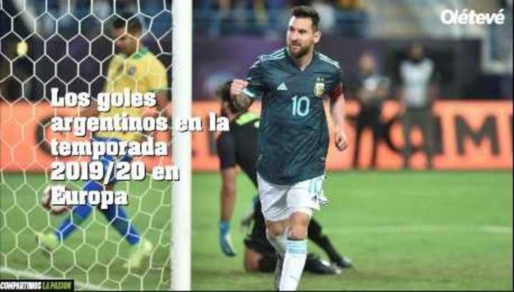 Los 229 goles argentinos en las cinco grandes Ligas de Europa