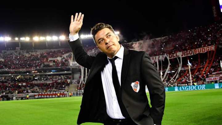 Riquelme elogió a Marcelo Gallardo:
