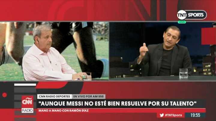 Ramón Díaz sobre Messi