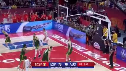 La increíble definición entre España y Australia