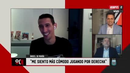 """Di María: """"Neymar me dice que están locos en Argentina por no convocarme"""""""