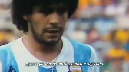 Homenaje AFA a Maradona