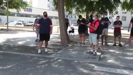 Los insultos de los hinchas del Barcelona a los dirigentes