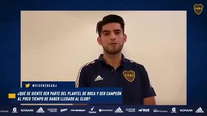 Entrevista a Carlos Zambrano, el central de Boca