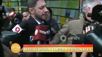 """Juicio Maradona - Claudia. """"Va a haber violencia"""""""