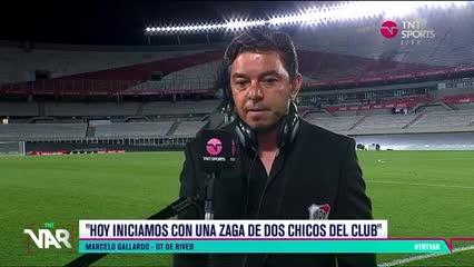 """""""Julián está maduro, resuelve situaciones y hace goles"""", dijo Gallardo"""