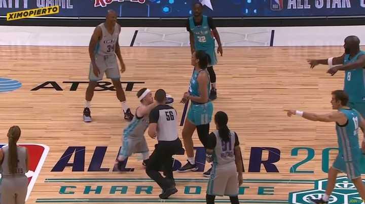 La estrella de las estrellas del Celebrity Game de la NBA