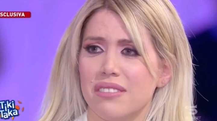 Wanda lloró en vivo por la situación de Icardi