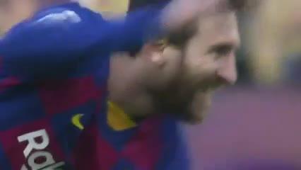 Messi tuvo el primero de Barcelona