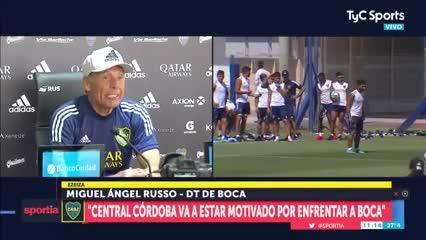 El mensaje de Russo para su hijo futbolista
