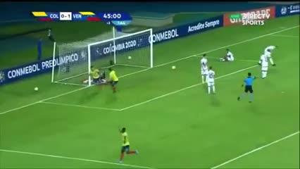 Gol de Carrascal para el empate de Colombia