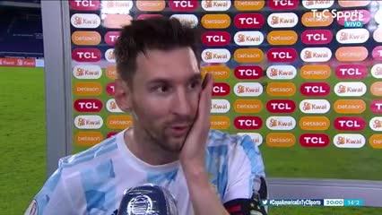 "Messi: ""Nos faltó tranquilidad"""